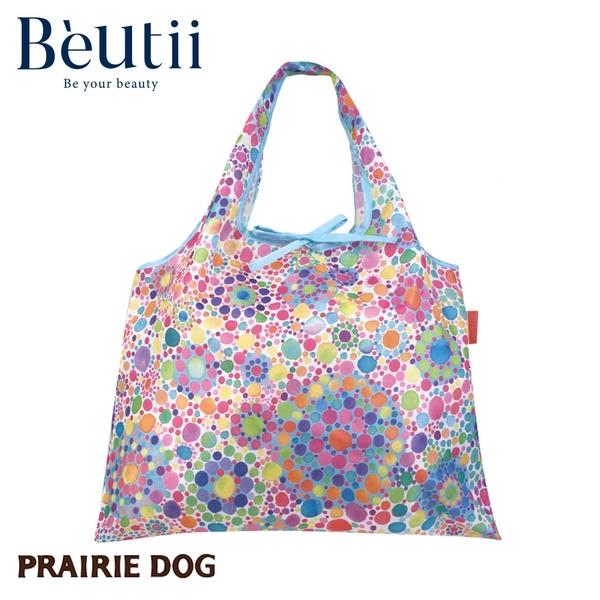日本 Prairie Dog 設計包 彩虹雨滴 日本插畫家 精心設計 方便攜帶 收納方便 雙層布料 提升耐用度