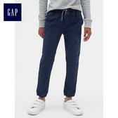 Gap男童 基礎款多選色休閒長褲 487594-海軍藍