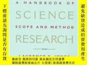 二手書博民逛書店Political罕見Science Research: A Handbook Of Scope And Meth