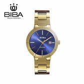 法國 BIBA 碧寶錶 永恆光影系列 藍寶石玻璃 石英錶 B320S304D 藍色 - 32mm