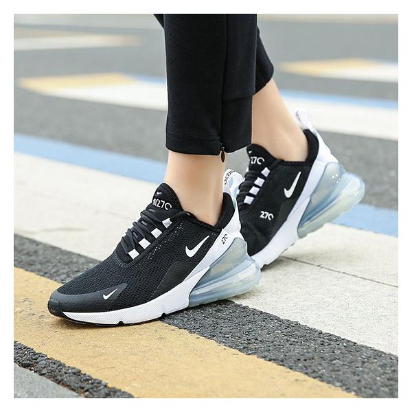NIKE W AIR MAX 270 成人女款 運動鞋休閒鞋 P7186#黑白◆OSOME奧森鞋業