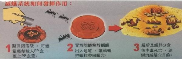 家家 除蟻粒【01060102】滅蟻 螞蟻藥《八八八e網購