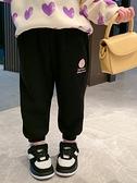 兒童棉褲 女童加絨褲子春2021新款兒童洋氣加厚衛褲女寶寶冬裝小童【快速出貨八折搶購】