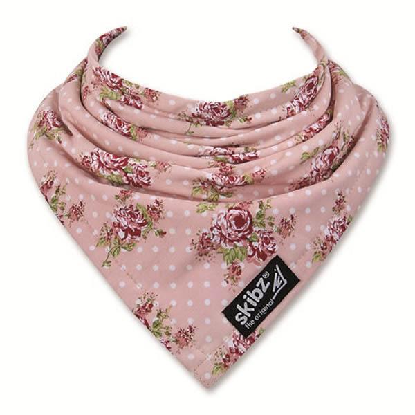 英國 skibz 英倫玫瑰時尚經典領巾