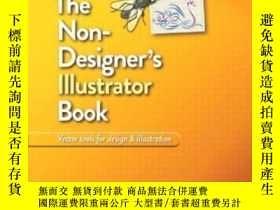 二手書博民逛書店The罕見Non-designer s Illustrator