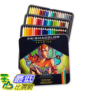 [美國直購]   Prismacolor 3599TN Soft Core Colored頂級油性色鉛筆 72色