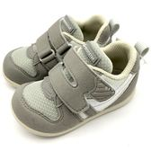 《7+1童鞋》小童 MOONSTAR 日本月星 十大機能Hi系列寶寶鞋 學步鞋 運動鞋 機能鞋 C442 灰色
