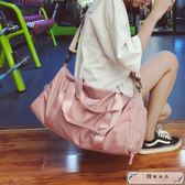 短途旅行包女手提行李包男韓版大容量旅游袋干濕分離運動健身包潮