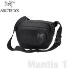 【ARC TERYX 始祖鳥 Mantis 1L 多功能腰包《黑》】25817/肩背包/隨身包/出國旅行