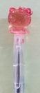 【震撼精品百貨】Hello Kitty 凱蒂貓~日本三麗鷗 KITTY 造型原子筆/中性筆-紅#86186