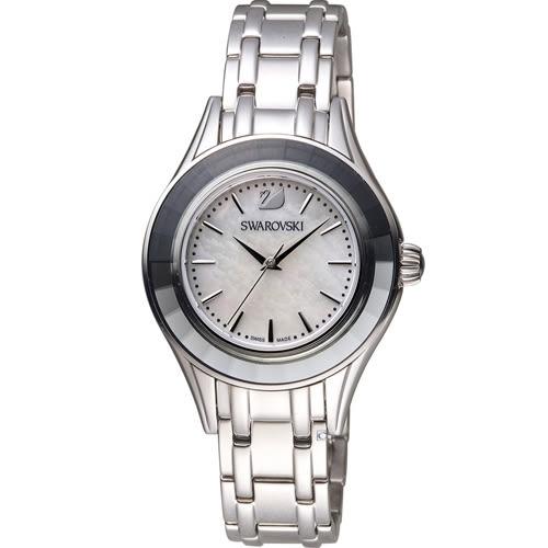 SWAROVSKI 施華洛世奇 Alegria奢華高雅時尚腕錶 5188848 白