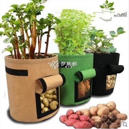 番薯土豆種植袋grow bag植物袋美植袋植樹袋植物生長袋Potato pot