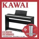 【敦煌樂器】KAWAI ES110 88鍵數位電鋼琴 時尚黑色款