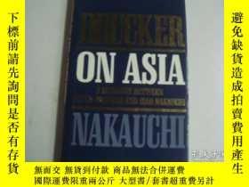 二手書博民逛書店Drucker罕見On Asia: A Dialogue Bet