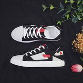 新款潮流帆布鞋韓版百搭休閒板鞋潮低筒透氣布鞋精神小伙潮鞋 降價兩天