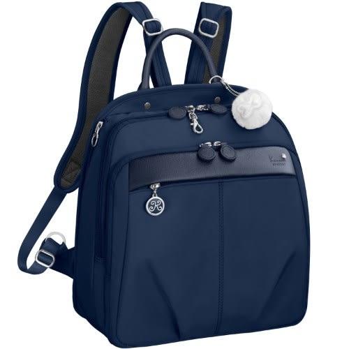 Kanana卡娜娜 多功能尼龍大型手提後背兩用包(海軍藍)241009-03