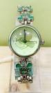 【震撼精品百貨】米奇/米妮_Micky Mouse~手錶-日本迪士尼米奇立體鐵錶練/手錶-圓綠#00081