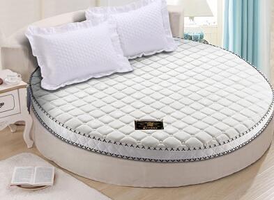 圓形床墊異形尺寸軟硬定制圓床2米個性2.2席夢思圓形3E椰棕可折疊xw