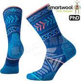 Smartwool PhD OD LT SW000767-491深藍 女戶外輕量級減震中長襪 美麗諾羊毛襪/戶外襪機能/健行襪雪襪