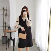 韓版休閒兩件套L-4XL大碼女裝微胖妹妹2019新款顯瘦洋氣减齡兩件套裝R033A-1585