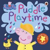 Peppa Pig:Puddle Playtime A Touch-And-Feel Playbook 佩佩豬玩泥巴觸摸書