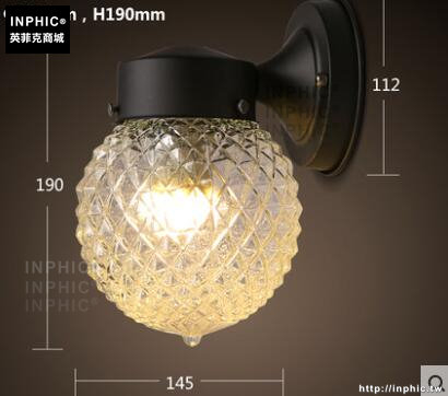INPHIC- 北歐臥室陽臺壁燈床頭燈現代簡約客廳創意過道牆燈led鐵藝鏡前燈-L款_S197C