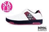 Royal Elastics童休閒鞋 Icon系列 免綁帶 運動鞋 板鞋 零碼出清G9227#白藍◆OSOME奧森童鞋