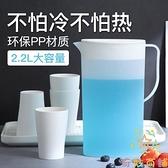 日式冷水杯套裝耐高溫冷水壺家用大容量涼水壺【奇妙商鋪】