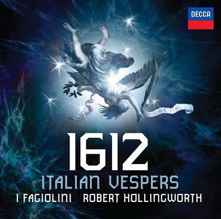 1612年 義大利晚禱 CD 1612 Italian Vespers 霍林沃斯指揮法吉歐里尼古樂合唱團青豆古樂合唱團