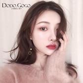 長款流蘇耳環女韓國氣質2019新款耳墜純銀耳釘簡約耳夾耳飾品