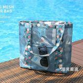 旅行透明游泳包干濕分離沙灘包女泰國海邊旅游必備用品不防水