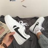 板鞋港風經典板鞋男2020夏季新款ins超火的鞋子韓版街拍復古小白鞋女 JUST M