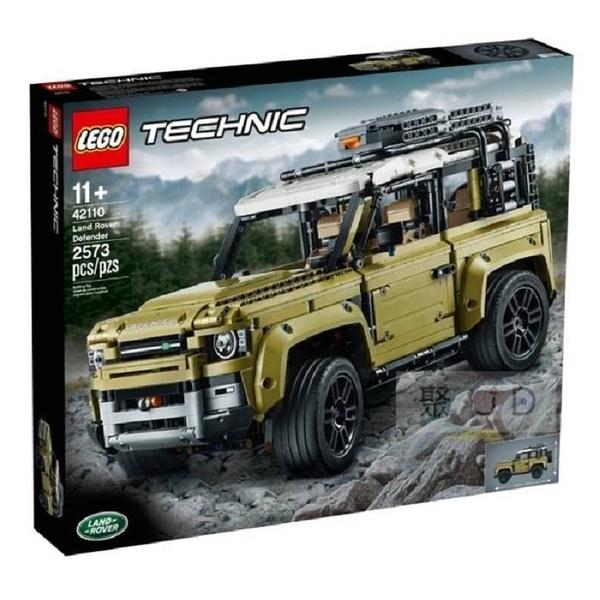 【南紡購物中心】【LEGO 樂高積木】Technic 科技系列 - Land Rover Defender LT-42110