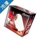 杜老爺絕配紅豆牛奶大雪糕80GX5/盒【愛買冷凍】