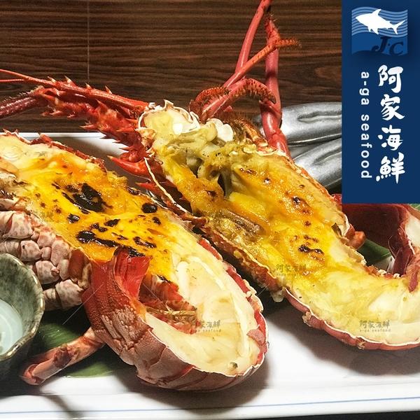 【阿家海鮮】頂級生凍龍蝦(2入組) 200g±10%/尾 年菜 野生 龍蝦清肉 極鮮凍 龍蝦