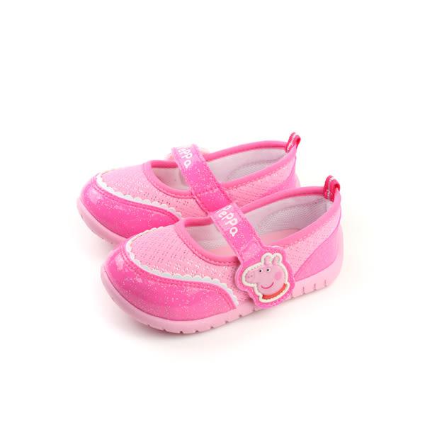 粉紅豬小妹 休閒鞋 童鞋 桃紅色 中童 no677