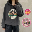 BOBO小中大尺碼【7002】寬版刷毛卡通鼠燕尾服連帽長袖 共5色 現貨