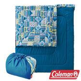 Coleman 2 IN 1家庭睡袋 C5 (舒適溫度:5℃) CM-27257M 信封型睡袋|化纖睡袋|可雙拼連接 |戶外|露營
