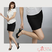 衣衣夫人OL服飾店【RD918】OL台製斜紋西裝短裙(黑)S