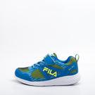 FILA  兒童 慢跑鞋-藍綠 3-J401S-366