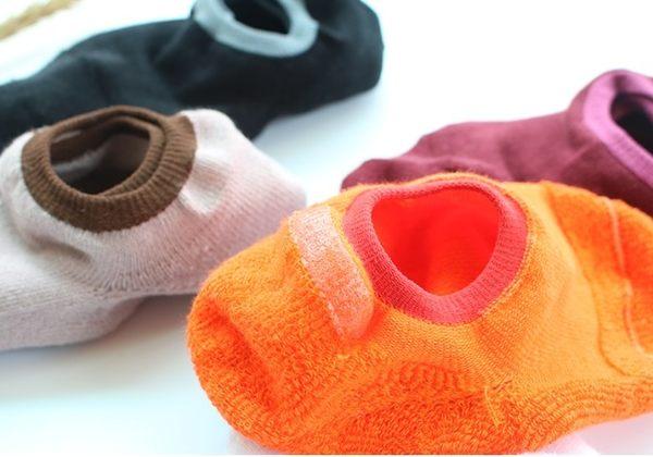[協貿國際]秋冬加厚毛圈船襪全棉保暖毛巾襪底短襪