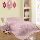 單件家紡防塵床罩灰塵遮蓋粉色床上床套透氣防塵罩雙人隔臟布套 蘿莉新品