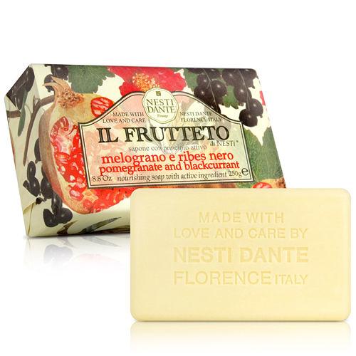 Nesti Dante  義大利手工皂-天然鮮果系列-石榴和黑醋栗(250g) 【ZZshopping購物網】