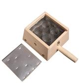 艾灸器具 艾草針灸盒-竹製四孔盒隨身灸盒溫多功能65j17[時尚巴黎]