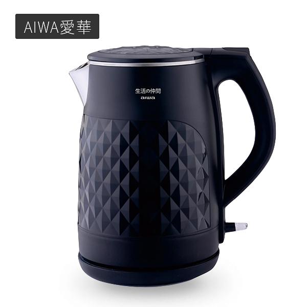 AIWA愛華 雙層防燙1.5L快煮壺 一入 DKS110118【PQ 美妝】