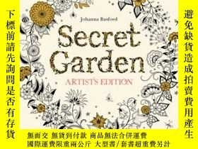 二手書博民逛書店Secret罕見Garden Artist s Edition: A Pull-Out and Frame Col