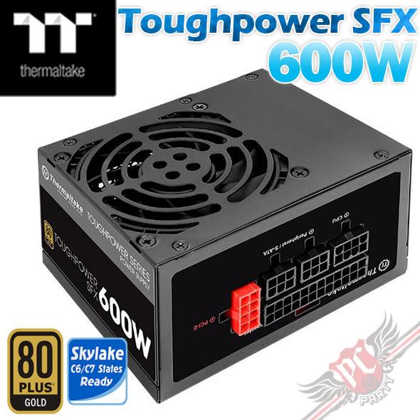 [ PC PARTY ] 曜越 Thermaltake Toughpower SFX 600W 金牌 電源供應器