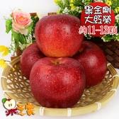 果之家 日本青森脆甜大紅榮蘋果XL特級11-13顆禮盒(約5kg,單顆為380-450g)