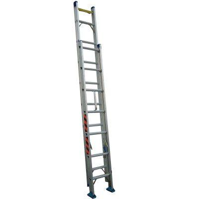 祥江鋁梯-雙節式伸縮拉梯4米