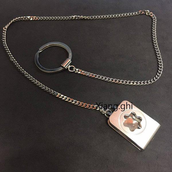 萬寶龍MONTBLANC-鑰匙圈-皮帶扣式